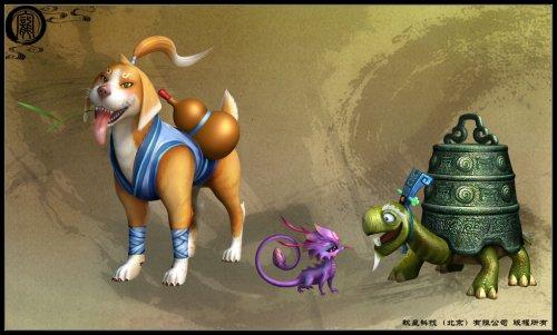 《仙剑奇侠传五》主角身边的宠物