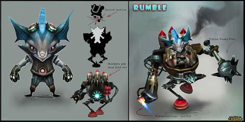 图4:可爱新英雄Rumble